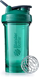 BlenderBottle Pro Series Shaker Bottle, 24-Ounce, Emerald Green
