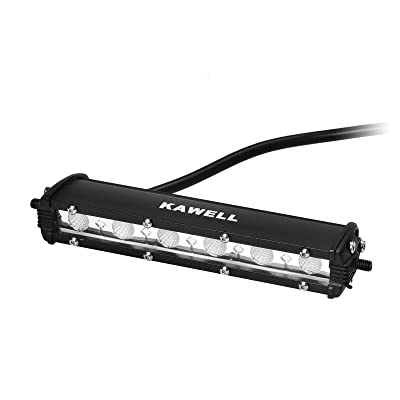 KAWELL 18W LED Work Light Bar Cree Chip Ultra Thin LED Light Bar Automobile Lighting Flood Offroad Working Light for Car Jeep Truck SUV ATV: Automotive