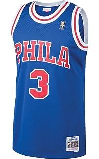 best website ae942 d9db1 Amazon.com : adidas Philadelphia 76ers #3 Allen Iverson NBA ...