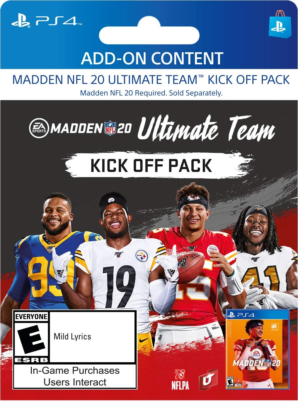 Madden NFL 20: Kick Off Upgrade - [PS4 Digital Code] by Electronic Arts