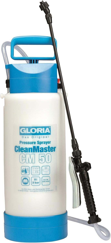 Gloria CleanMaster CM50 - Pulverizador de presión para limpieza (5 L)