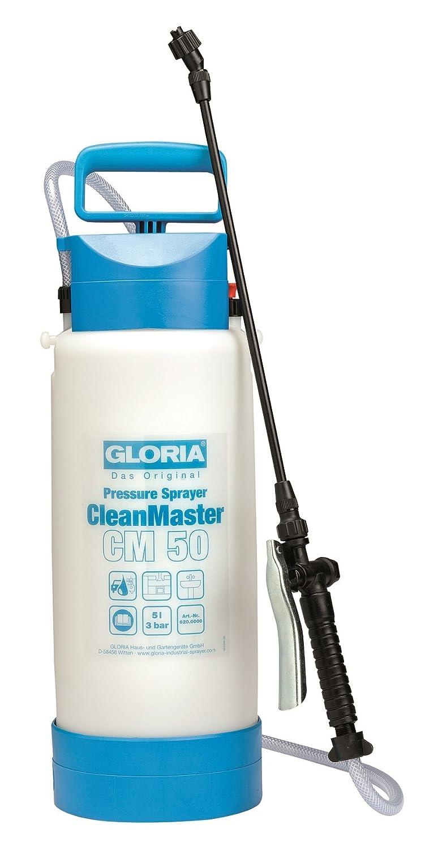 Gloria CleanMaster CM50 Pulvérisateur pour Produit à Base d'Acide, 5 Litres 000620.0000