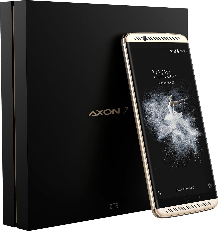 ZTE AXON 7 (64GB) - Smartphone libre Android 6.0 (4G Lte, Pantalla 5.5