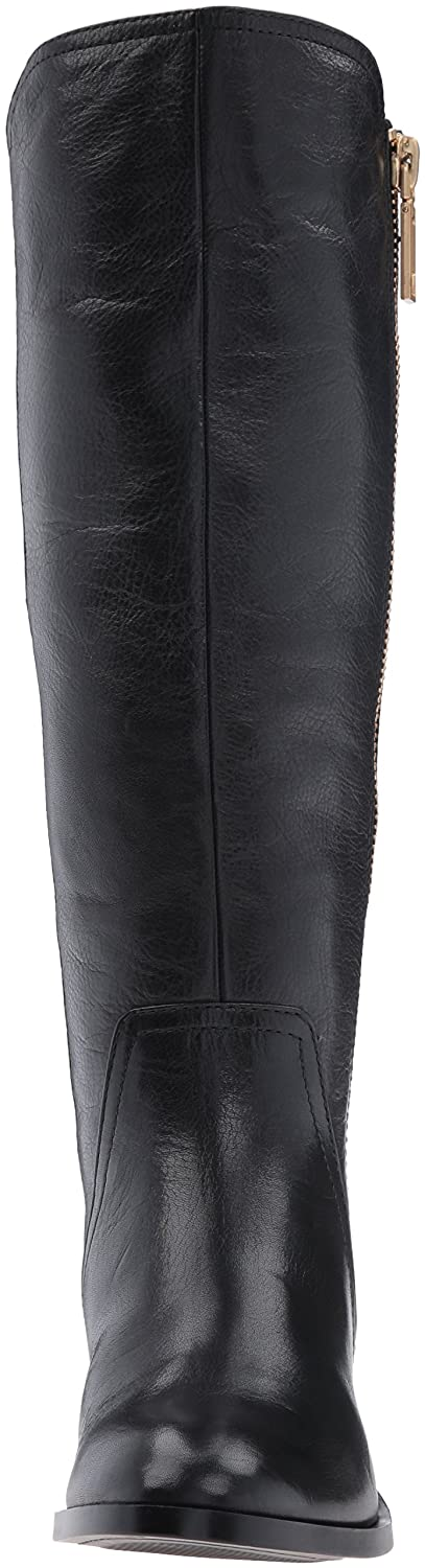 AMGXX116482 WeenFashion Womens Imitated Suede Mid-Calf Solid Lace-Up High-Heels Boots