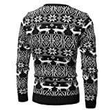 Men's Ugly Christmas Sweater,Kehome Funny Holiday