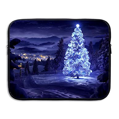 Amazon Com Merry Christmas Wallpapers Tree A2 Notebook Briefcase