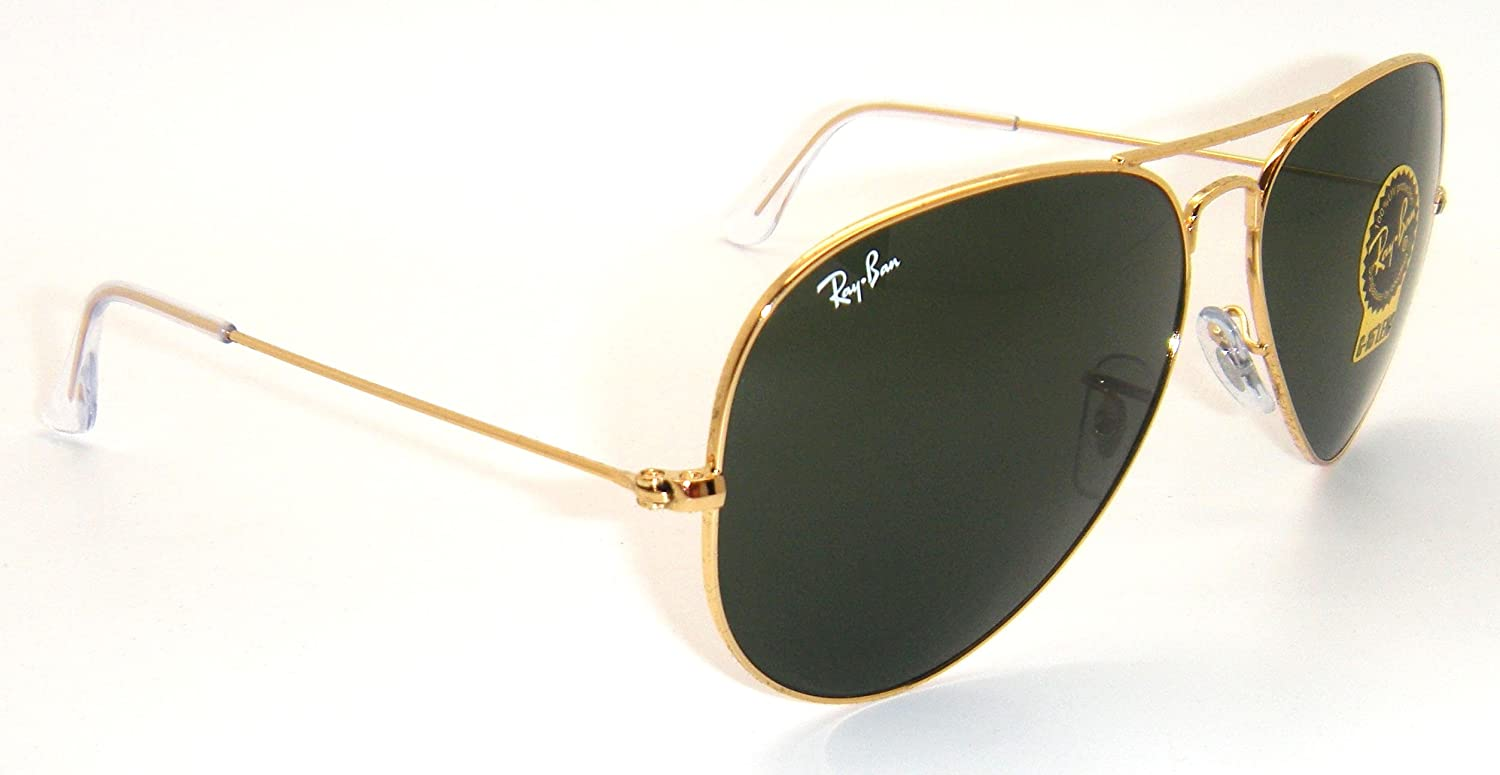 6a78826599 Amazon.com  RAY BAN AVIATOR RB3026 Sunglasses - Gold L2846 Large (62mm)   Shoes