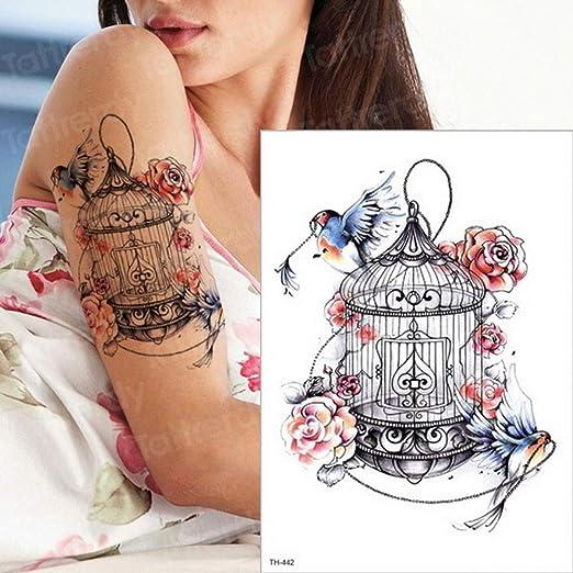 Handaxian 3pcs Etiqueta engomada del Tatuaje Tatuaje Duradero ...