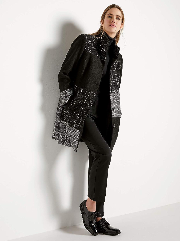 Balsamik Cappotto Donna Nero 50: Amazon.it: Abbigliamento