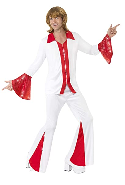 70s Costumes: Disco Costumes, Hippie Outfits Smiffys Super Trooper Male Costume $66.49 AT vintagedancer.com