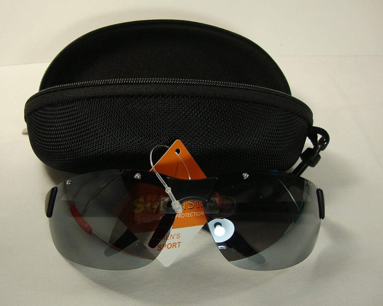 Black frame for Men with hard black shell cover Razor VL CSS Mirrored Sports Sunglasses Driving glasses NS1118