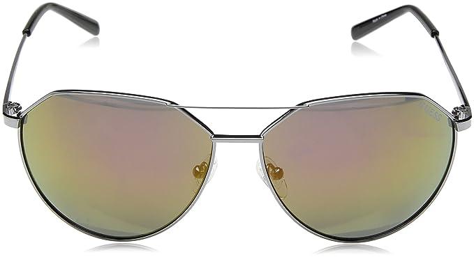 Guess Unisex-Erwachsene Sonnenbrille GF016108U61, Grau (Grigio), 56