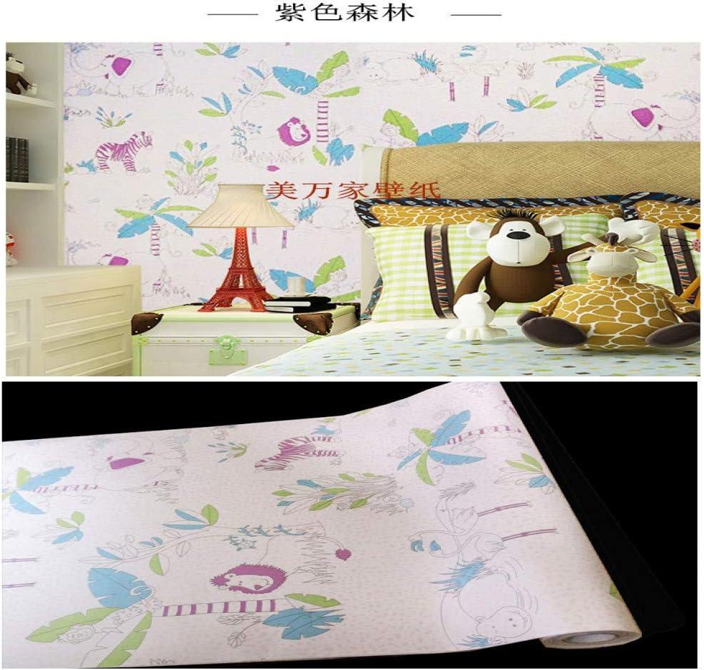 lsaiyy DIY PVC Autoadhesivo Papel Tapiz Sala de Estar Dormitorio TV Espalda niños habitación niño niña Impermeable Pegatinas de Pared Papel tapiz-45CMX10M: Amazon.es: Hogar