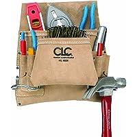 Custom Leathercraft I823X Suede Carpenter's Nail And Tool Bag, 8 Pocket
