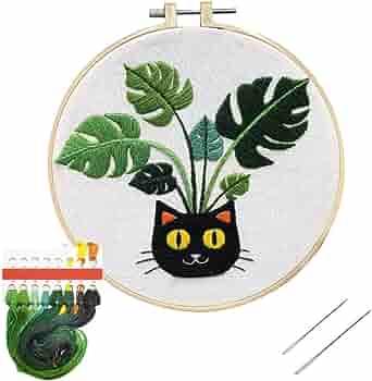 DIY craft gastropod Snail counted cross stitch kit embroidery garden life bug needlepoint kit animal