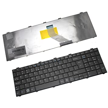 Nuevo teclado para ordenador portátil para Fujitsu LifeBook A530 A531 AH530 AH531 NH751 cp515905 - 01 mp-24aa3us-d853, US Layout Black Color: Amazon.es: ...