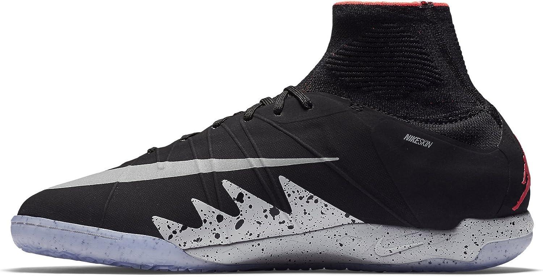 Men's Nike Soccer Black Proximo Hypervenomx IC Jordan Shoes NJR x 820118 006 3AL54Rj