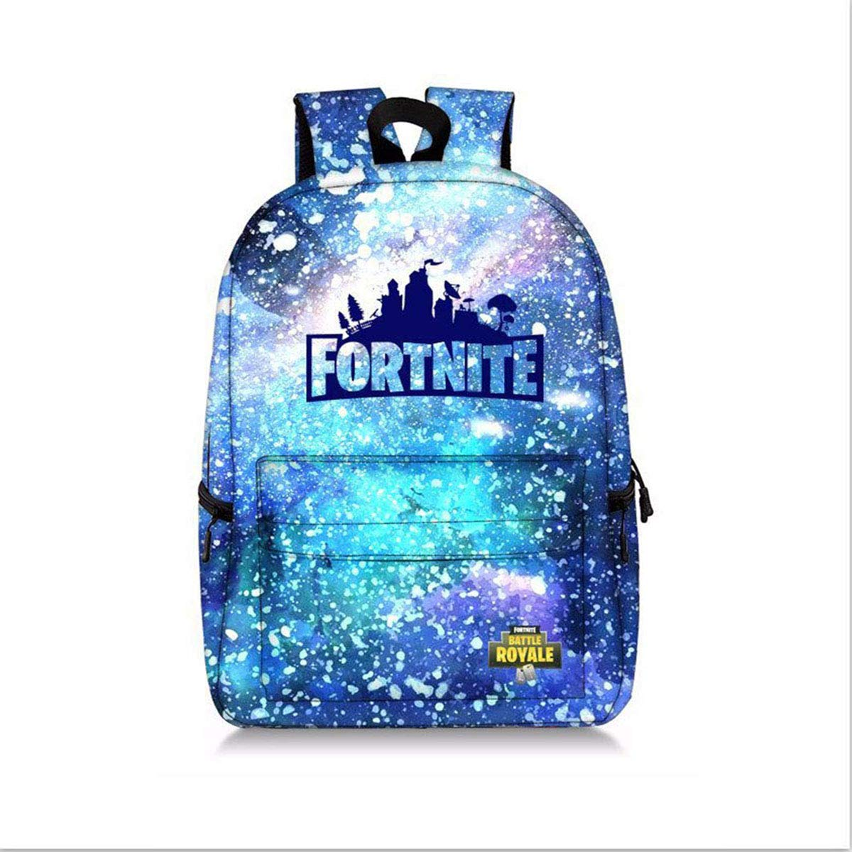 Battle Royale Games Luminous Bright Galaxy Backpack for Boys School Bag Travel Daily Laptop Backpack Fortnite Fans Gifts (H03)