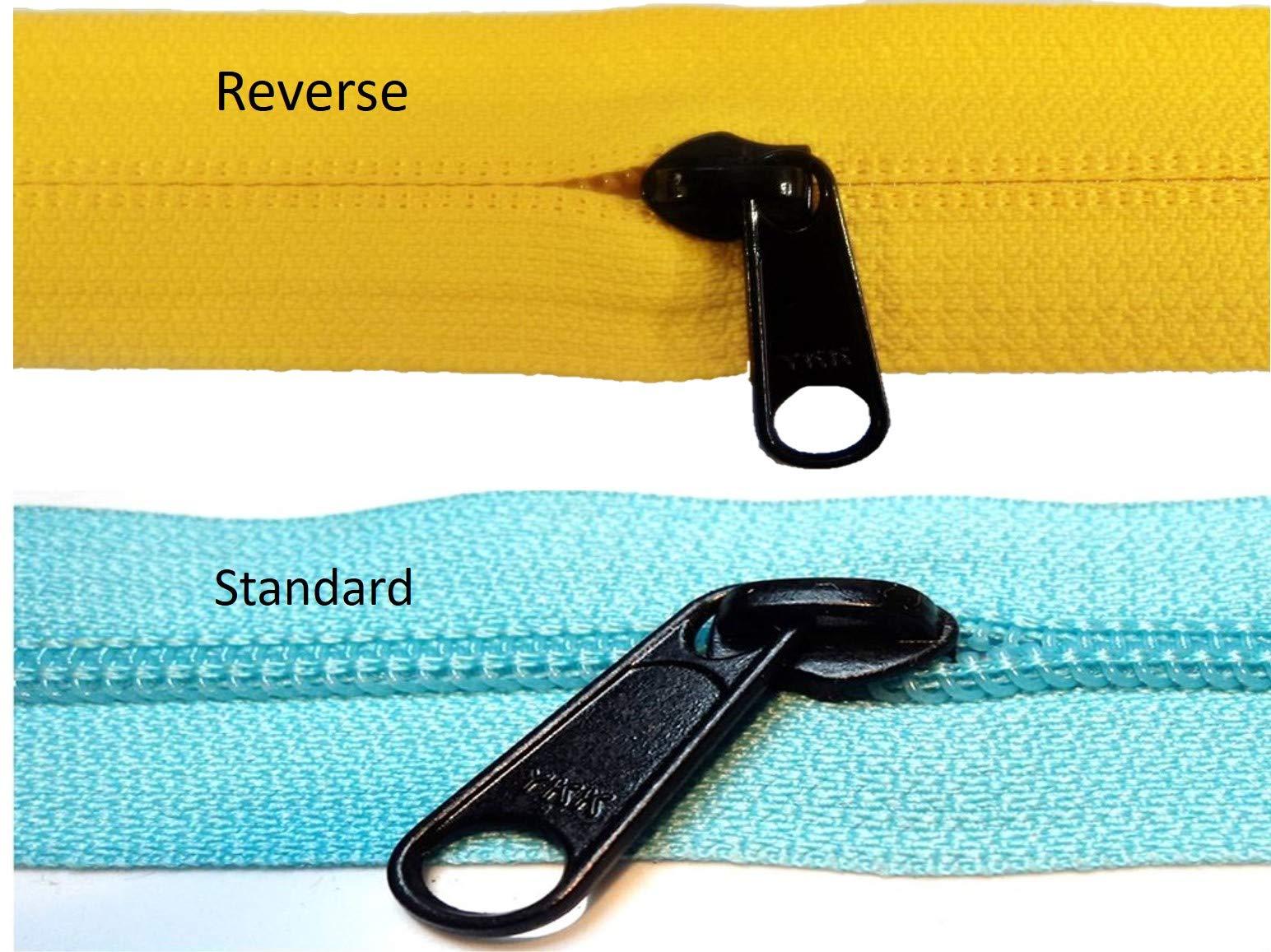 Northwest Contract Sewing Authorized Distributor of YKK - YKK #5 Coil Reverse Zipper Slider (250) by YKK