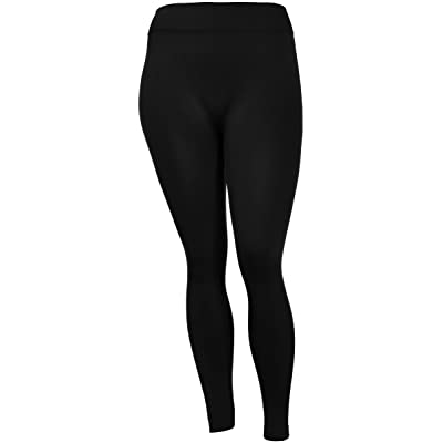 e8ddcd7763b937 Sofra Women's Plus Size Super Soft Stretch Fit Leggings in 4 Great Solid  Colors