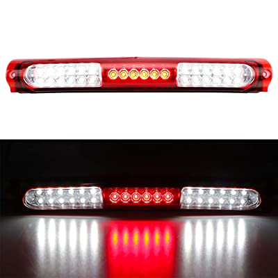for 1997-2003 Ford F150 / 2004 Heritage LED 3rd Third Brake High Mount Light Cargo Light Stop Lamp (Red): Automotive