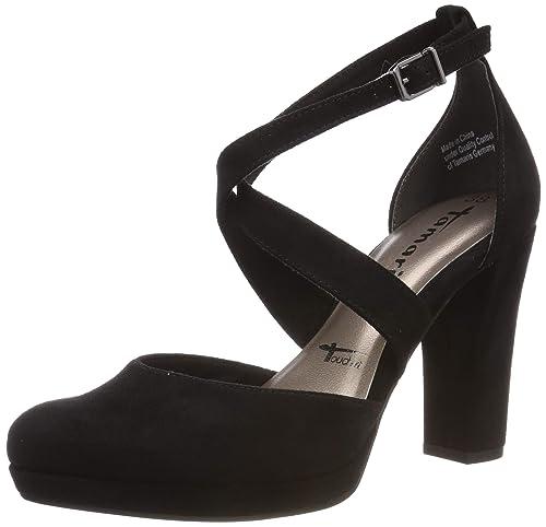 Tamaris Damen 1 1 24406 22 Slipper, Schwarz (Black