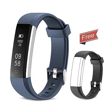 03cfb55c1f99 Yuanguo Pulsera de Actividad Inteligente Reloj Deportivo con ...