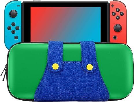 MoKo Funda Compatible con Nintendo Switch, Mario Estuche de EVA + ...