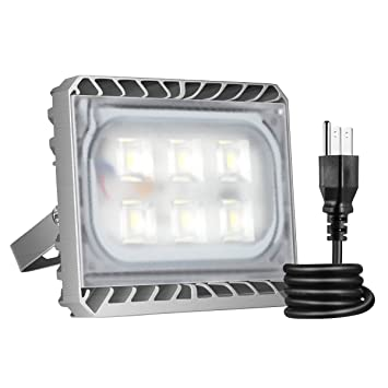SOLLA 30W LED Flood Light Outdoor Super Bright Security Light,2850LM,Warm  White,