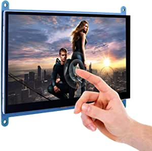 YASE-king 7 Capacitive Touch Screen TFT LCD Display HDMI Module 800x480 for Raspberry Pi 3 2 Model B and RPi 1 B+ A BB Black PC Various Systems SC7B