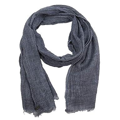 9898ea499b4bd ESPRIT Herren Tuch Halstuch Crinkle Schal aus 100% Baumwolle 087EA2Q002-E415