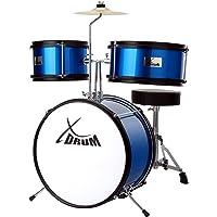 XDrum Junior KIDS bateria incl. DVD azul