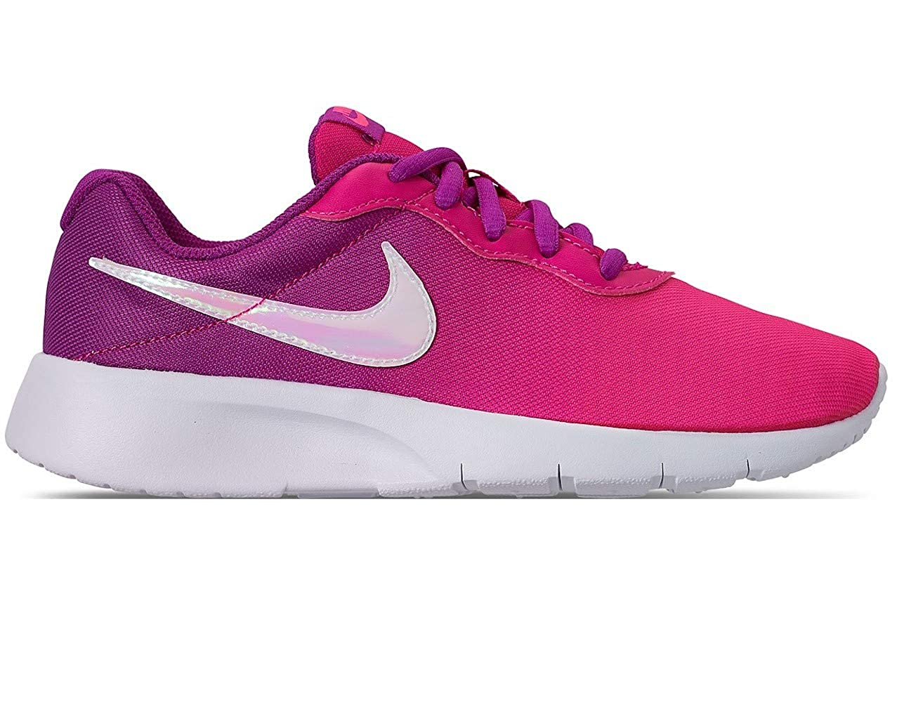 e054925fa7 Amazon.com | Nike Girl's Tanjun Print Shoe Hyper Violet/Pink Blast/Deadly  Pink Size 6 M US | Running