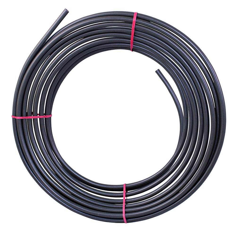 25 ft 5/16 in - PVF-coated Steel Brake Line Tubing Coil (Universal Size)