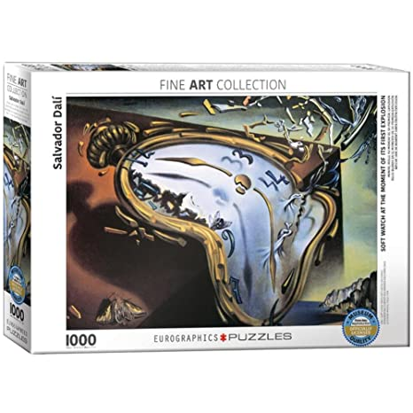 Soft Watch at Moment of First Explosion by Salvador Dal? 1000 Piece Puzzle Jigsaw