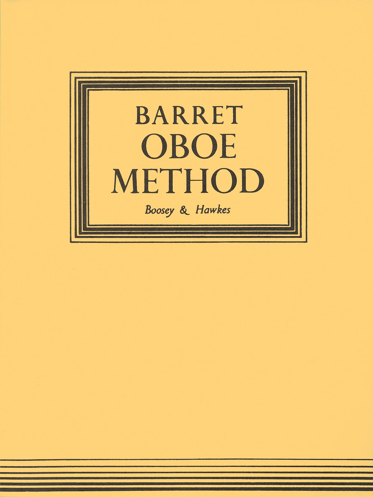 Boosey & Hawkes A Complete Method for the Oboe (Original Edition)