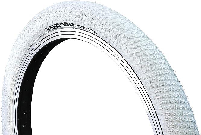 Vandorm - Ruedas de Colores Drifter R2R para Bicicleta BMX, 20 x 2 Pulgadas, Color Blanco, tamaño 20