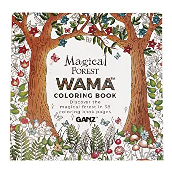 amazon com ganz wama magical forest adult coloring book arts  ganz wama magical forest adult coloring book