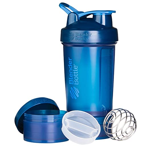 243 opinioni per Blenderbottle Prostak, Shaker per Proteine Unisex-Adulto, Navy, 650 ml