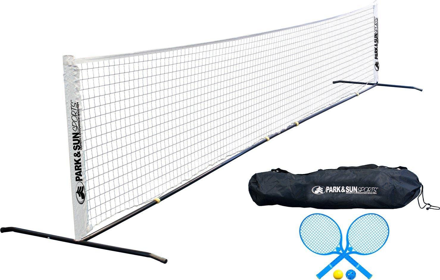 amazon com park u0026 sun sports portable tennis net set with