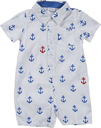 Egg by Susan Lazar Little Boys Check Button Down Shirt Toddler//Kid