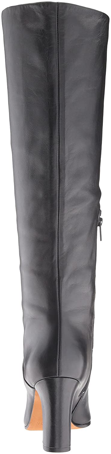 Via Spiga Women's Soho Tall Bot Knee High Boot Leather B06XGWDV56 9 B(M) US|Black Leather Boot 60f9f1