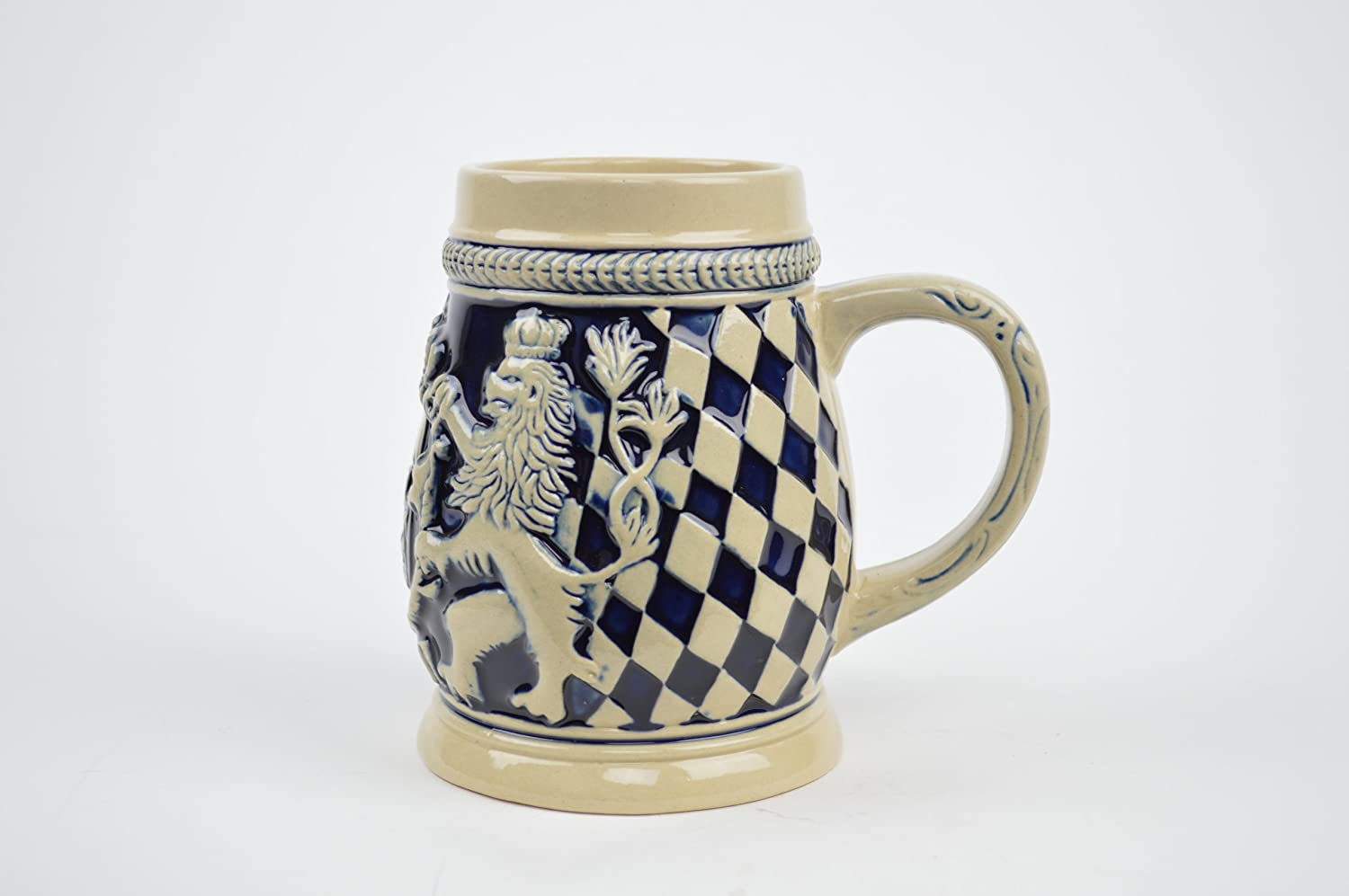 Germany Bayern Coat of Arms Ceramic Collectible Beer Stein Essence of Europe Gifts E.H.G S4104