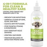 4-in-1 Dog Ear Cleaner - Vet Formulated Cleansing