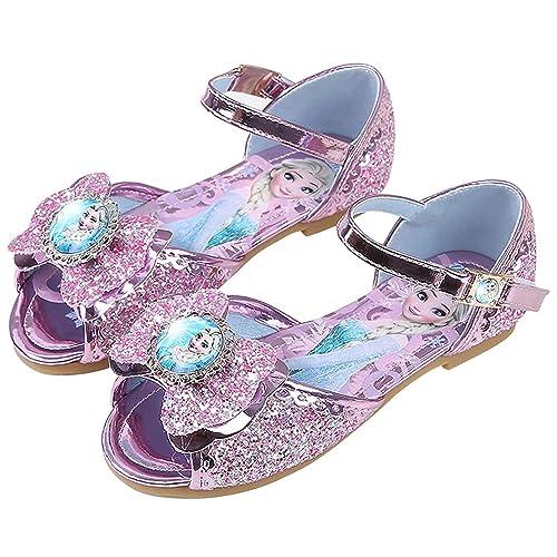 YOSICIL Niña Sandalias de Princesa Zapatos de Tacón Alto de ...