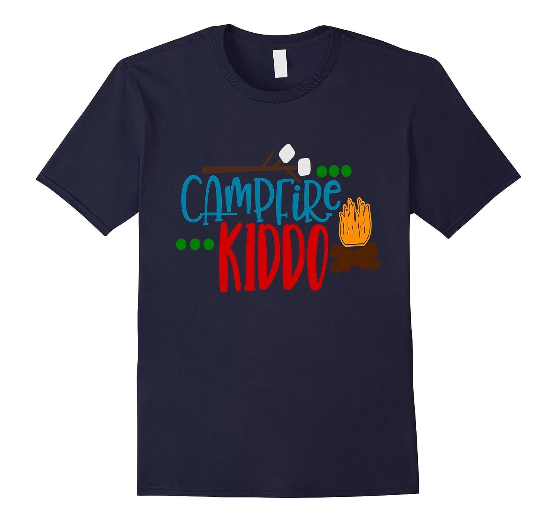Campfire Kiddo Camping Shirt Bonfire Camp Kids Son Daughter-PL