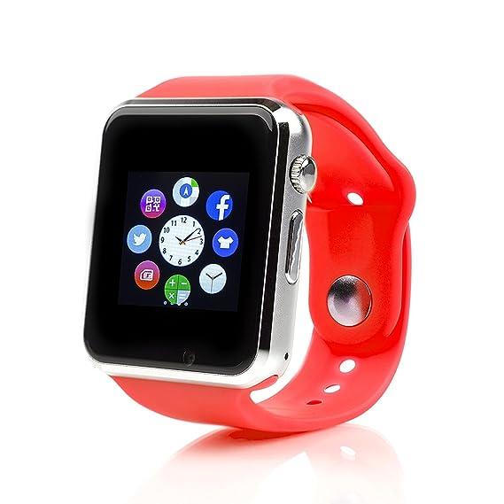 Amazon.com: Bluetooth Smart Wrist watch A1 Smartwatch with ...