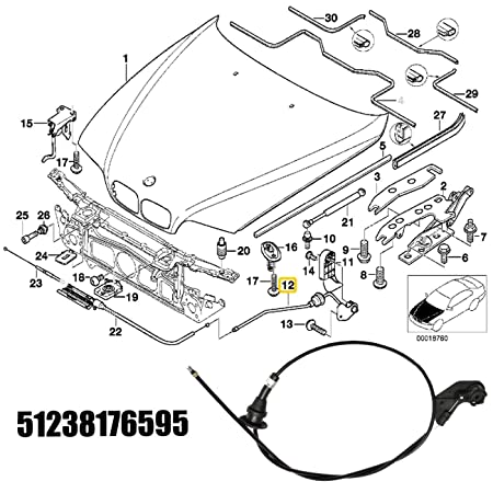 amazon autopa engine hood release cable kit for bmw 5 series 98 BMW 328I amazon autopa engine hood release cable kit for bmw 5 series e39 automotive