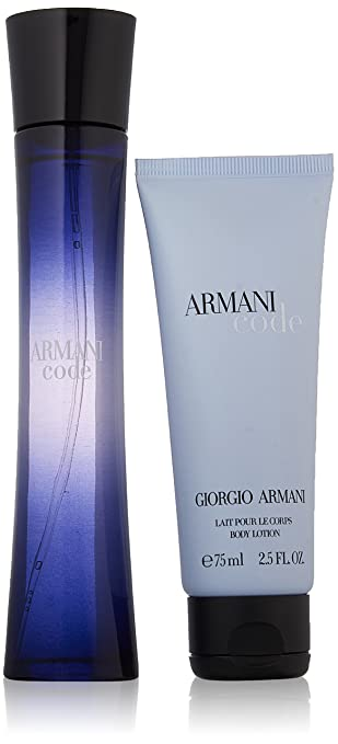 f8662d7c1b Amazon.com : Giorgio Armani Code 2 Piece Set For Women (Packaging May Vary)  : Fragrance Sets : Beauty