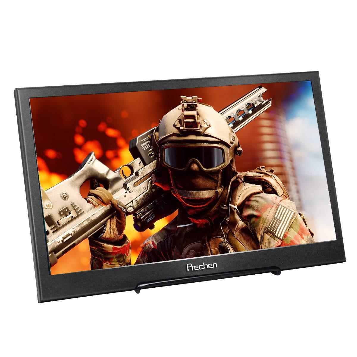 Prechen Portátil Monitor IPS Pantalla Full HD 13.3 pulgadas 1920x1080 portátil Monitor aluminio carcasa HDMI monitor Pantalla juego Monitor, ...